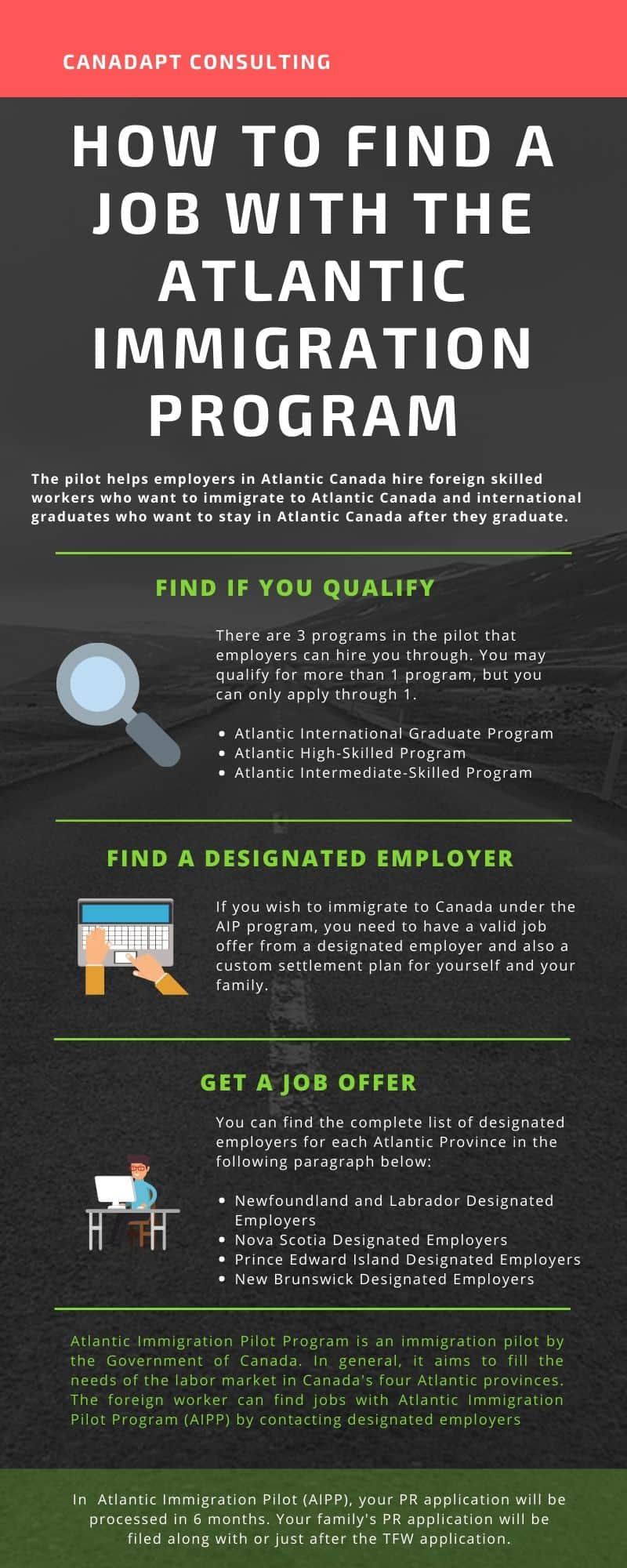 how to get job offer for aipp