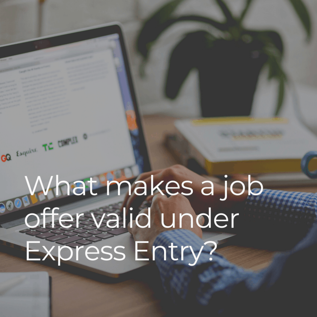 Express Entry Job Offer Do You Need LMIA for Canadian PR