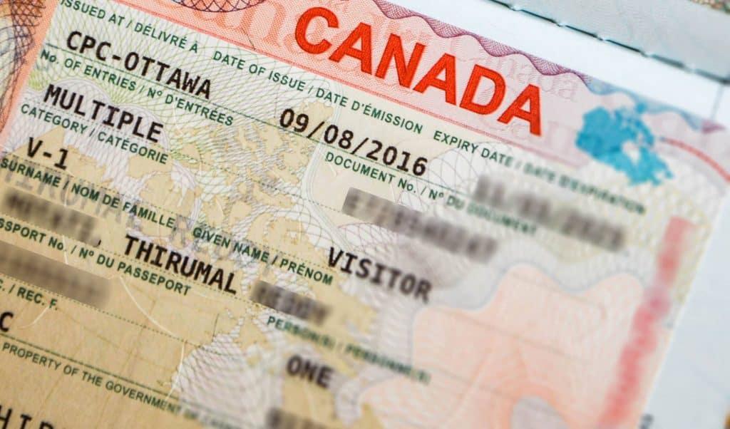 multiple entry visa canada